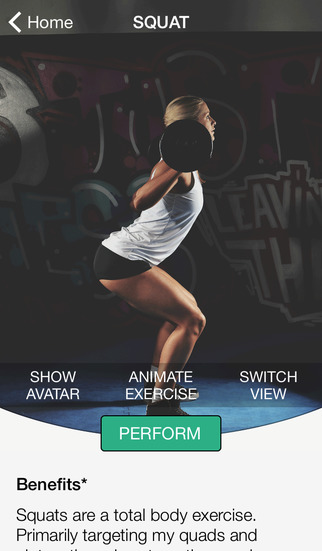 Fitness Avatar: Exercise Trainer from Raw Origins – for Squat, Deadlift and Bench Press. screenshot 2