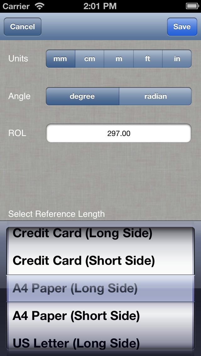 Partometer - camera measure screenshot 5