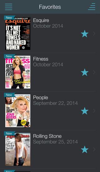 Texture – unlimited digital magazines screenshot 1