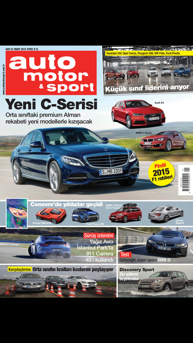 Auto motor & sport magazine screenshot 1