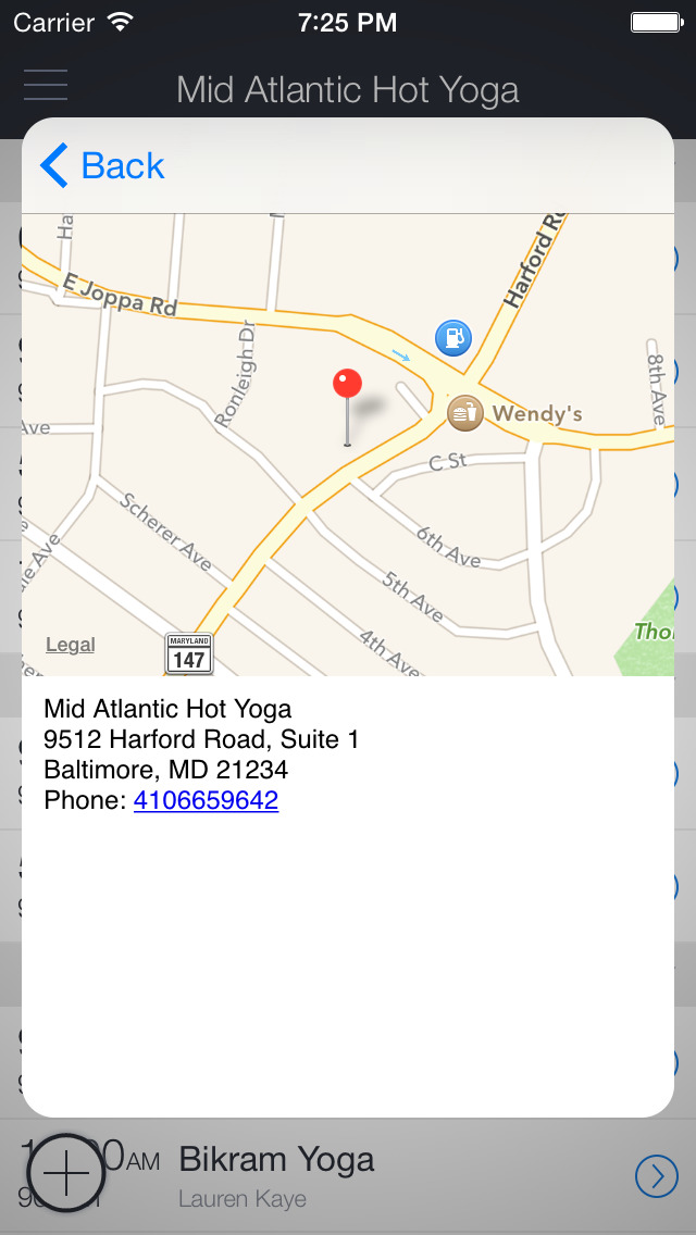Baltimore Hot Yoga & Wellness screenshot 3