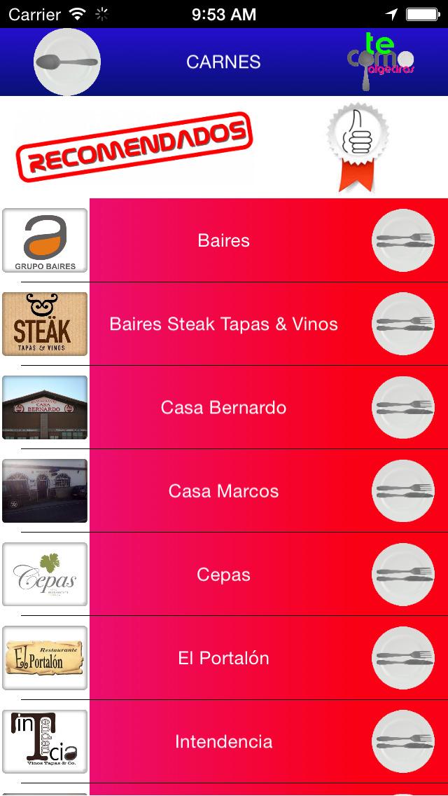 Te Como Algeciras - La guía gastronómica más completa screenshot 3