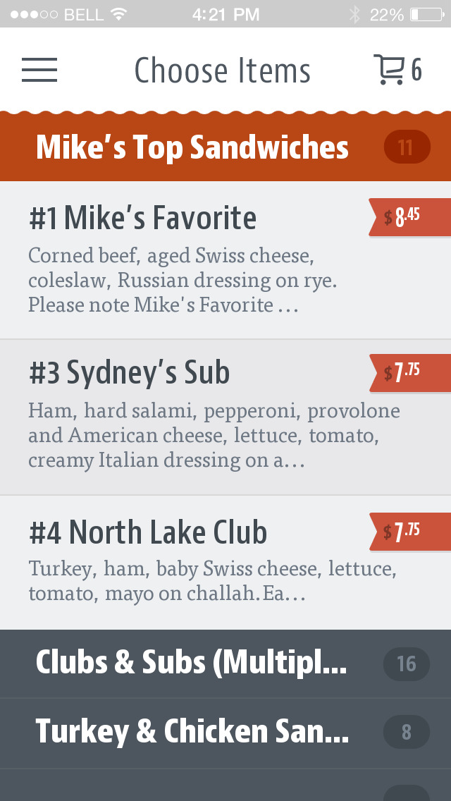 Mike's Deli screenshot 3
