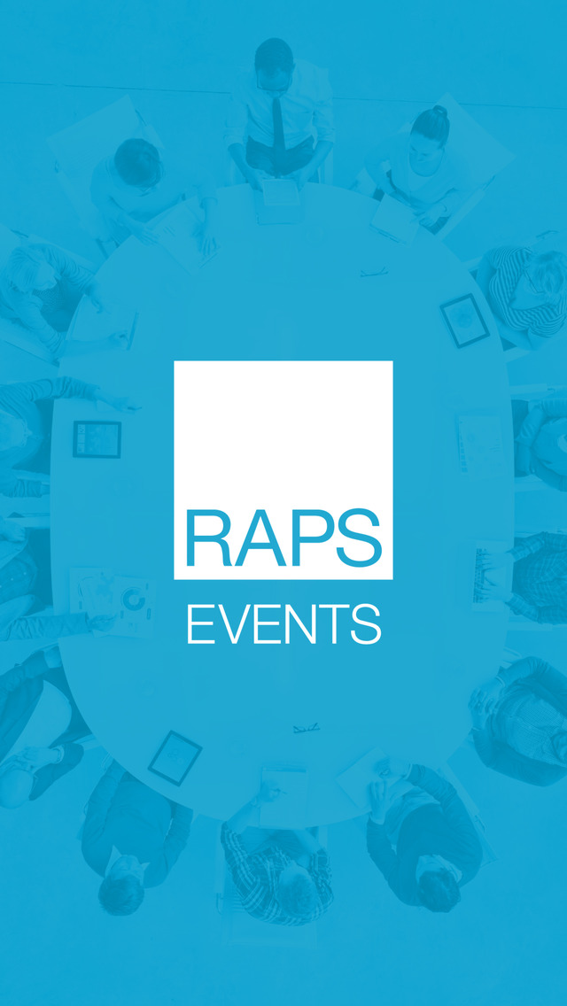 RAPS Regulatory Events screenshot 1
