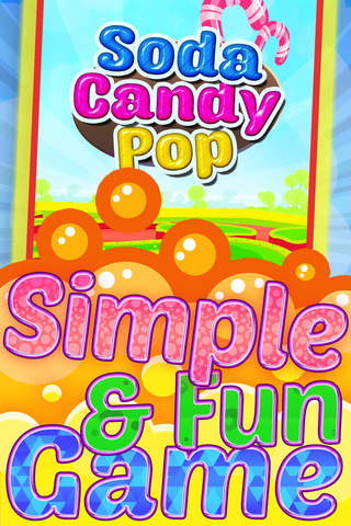 `` A Soda Candy Pop`` - Match 3 Bubble Shooter For - náhled
