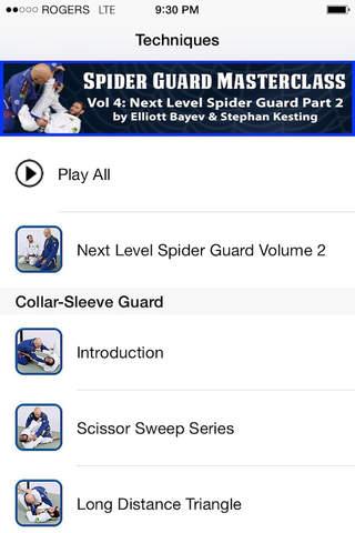 BJJ Spider Guard Volume 4, Next Level Spider Guard - náhled
