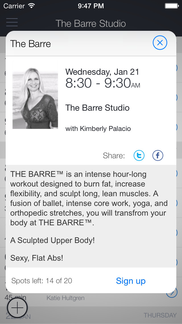 The Barre Studio Delray Beach screenshot 2