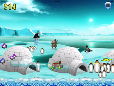 Happy Pinguin Jump : Wourld Tour screenshot 6