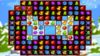 Christmas Sweeper - Relaxing Match-3 Puzzle Game screenshot 4