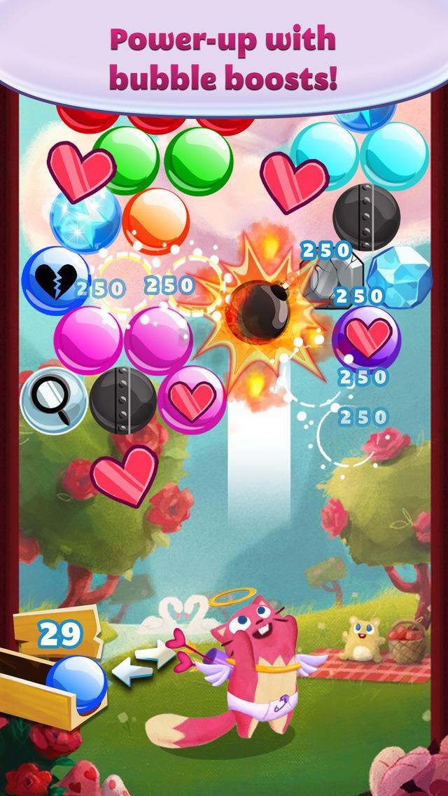 Bubble Mania Valentine's Day screenshot 2