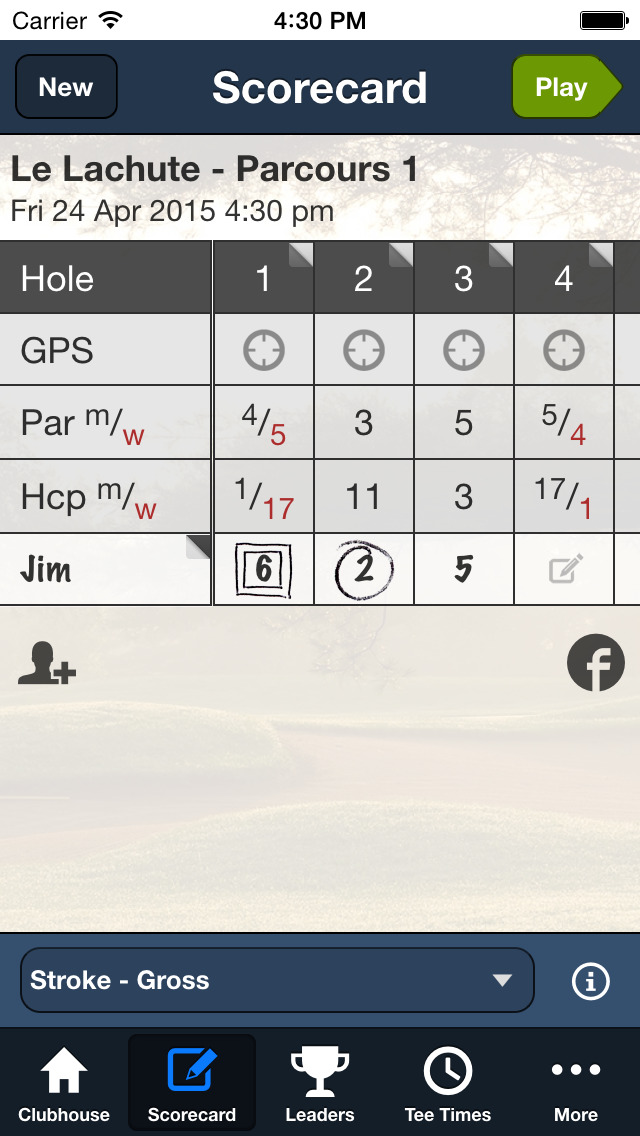 Groupe Beaudet Golf screenshot 3
