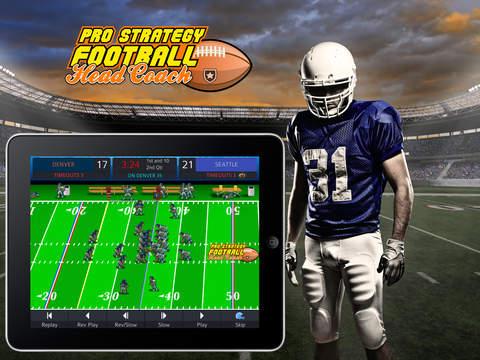 Pro Strategy Football 2014 screenshot 6