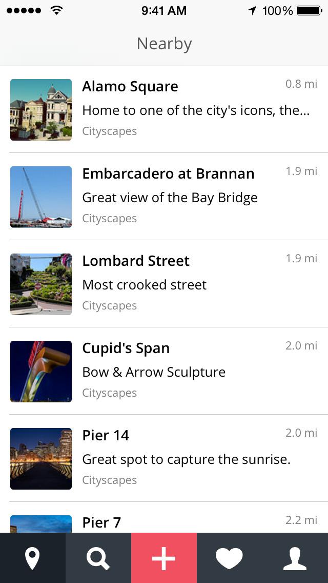 ShutterSpots: Photo Locations screenshot 1