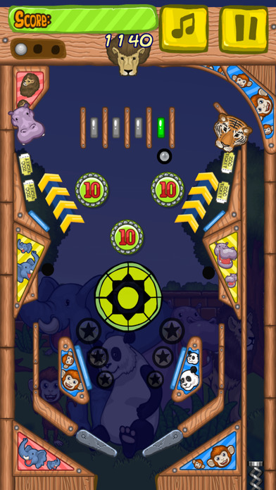 Zoo Pinball ⊙ screenshot 4