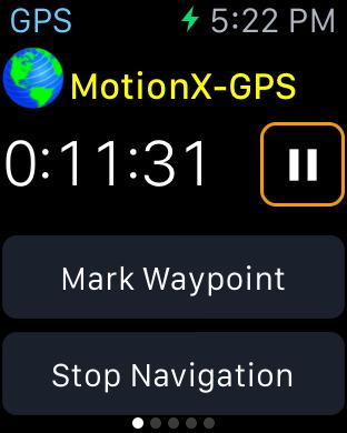 MotionX GPS screenshot 8