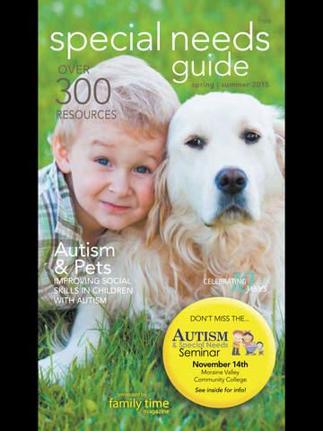 Special Needs Guide Magazine screenshot 6