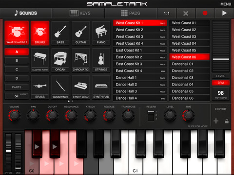SampleTank CS screenshot 6