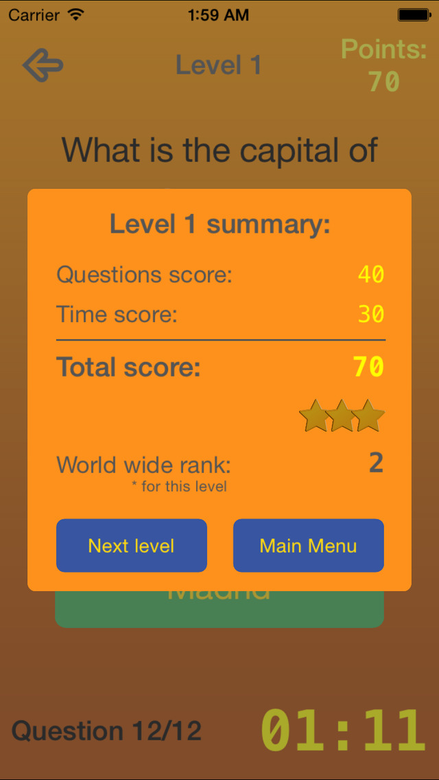 Ultimate Capitals Quiz  World Geography Trivia Game - Learn
