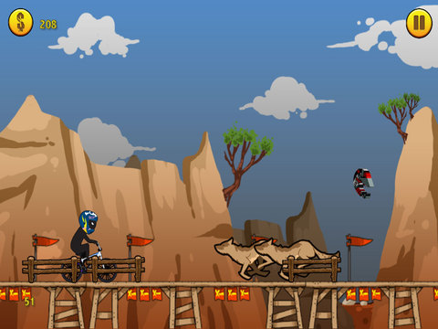 A BMX Stickman Racer PRO - Full Crazy eXtreme Stunts Racing Version screenshot 8