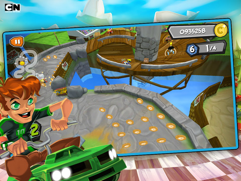 Formula Cartoon All-Stars – Crazy Cart Racing with Your Favorite Cartoon Network Characters screenshot 5