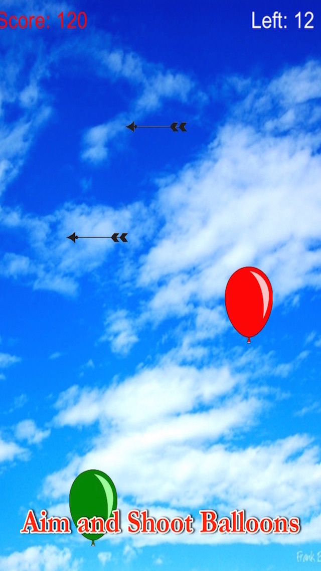 Aim And Shoot Balloon With Bow - No Bubble In The Sky Free screenshot 1