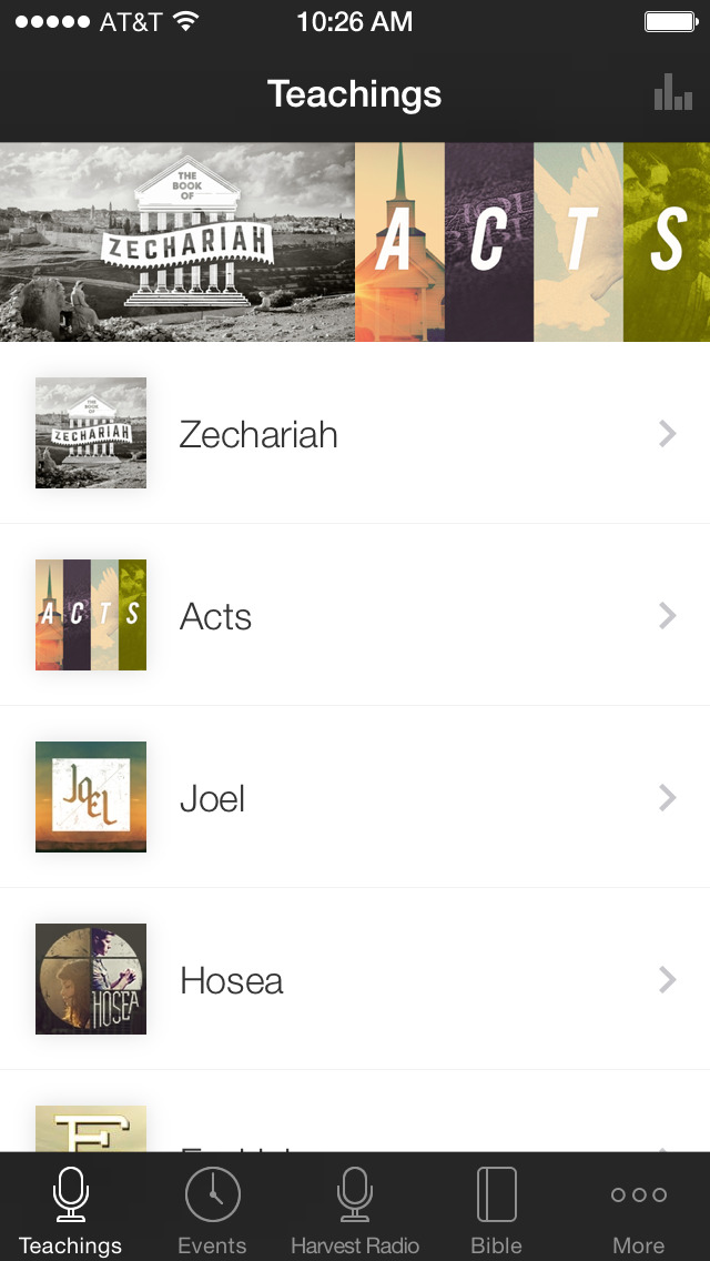 Harvest Fellowship App screenshot 1
