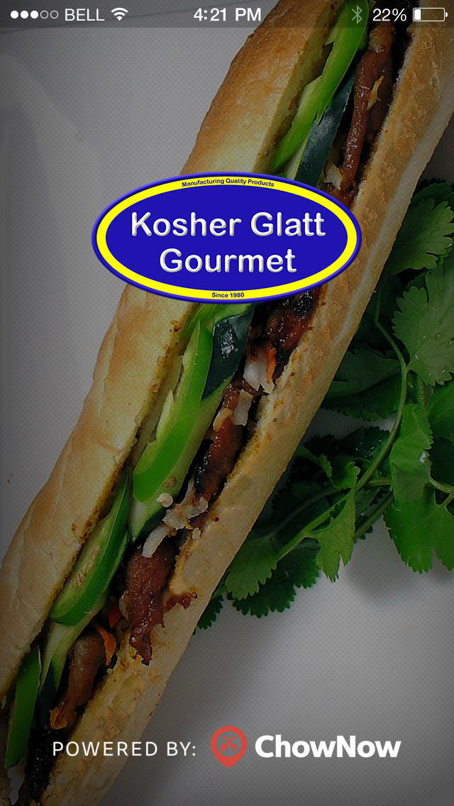 Kosher Glatt Gourmet screenshot 1