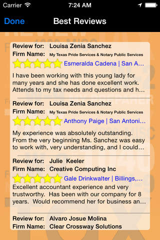 Find the Best Tax Preparers – Reviews of CPAs & Ta - náhled