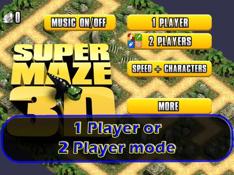 Super Stone Age Maze 3D Time Race - Fun Dino Escape Challenge screenshot 9