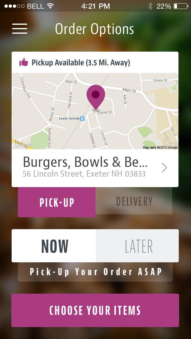 The GKC Burgers & Bowls screenshot 2