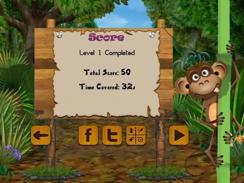Hungry Monkey Challenge screenshot 8