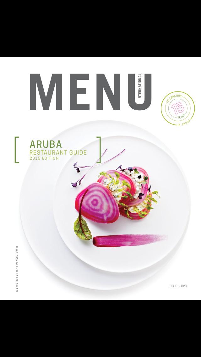 Menu International - Restaurant Guide - Aruba screenshot 1