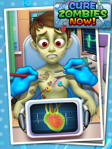 Cure Zombies Now - Zombie's Surgery screenshot 4
