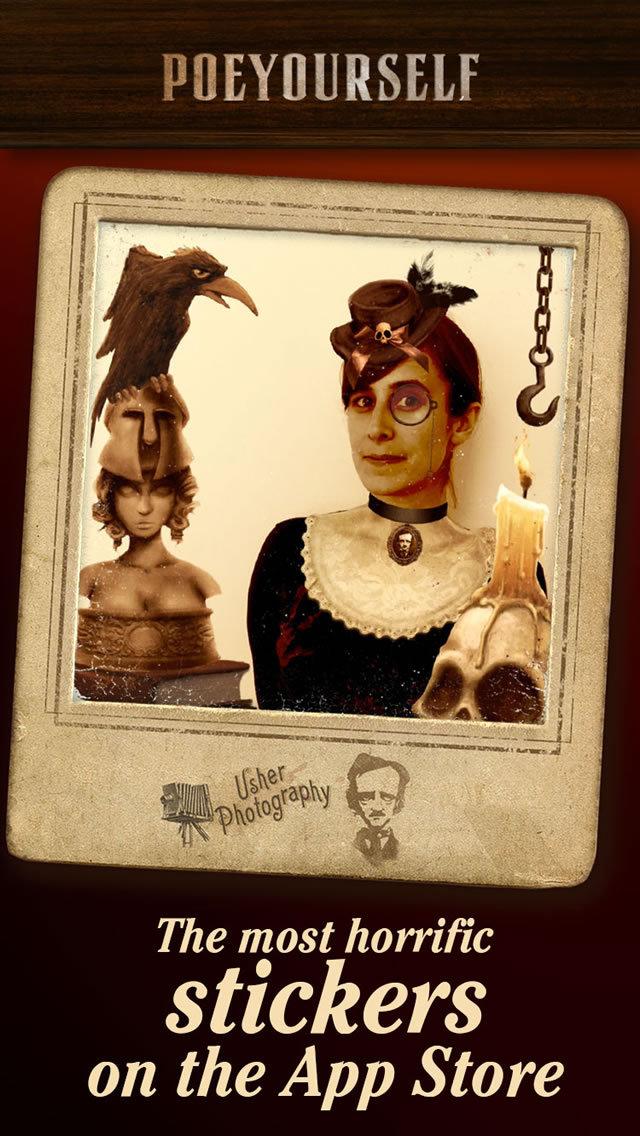 Poe Yourself - Take a photo and enjoy macabre! screenshot 5