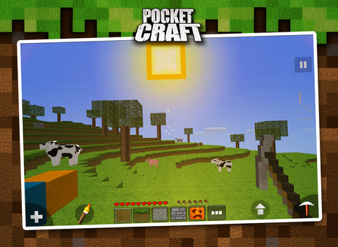 Pocket Craft : Survivor Mode screenshot 4