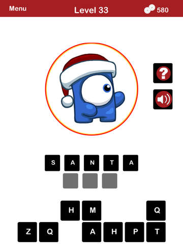 QUIZMAS PICS HOLIDAY TRIVIA - The Christmas Picture Word Trivia Game for the Holiday Season. screenshot 8