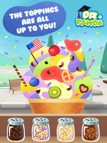 Dr. Panda's Ice Cream Truck screenshot 7