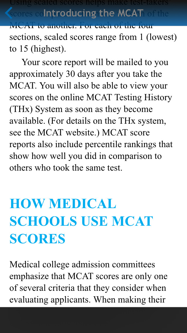 McGraw-Hill Education MCAT Practice Tests screenshot 5