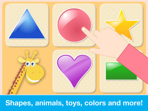 Baby First Words. Matching Educational Puzzle Games for Toddlers and Preschool Kids by Abby Monkey® Learning Clubhouse screenshot 8