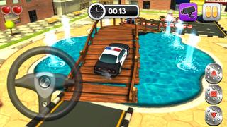 Action Police Car Parking Simulator 3D - Real Test Driving Game screenshot 5