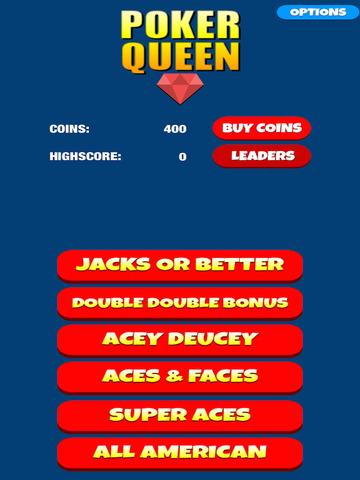 Poker Queen - Video Pocker Machine Game screenshot 6