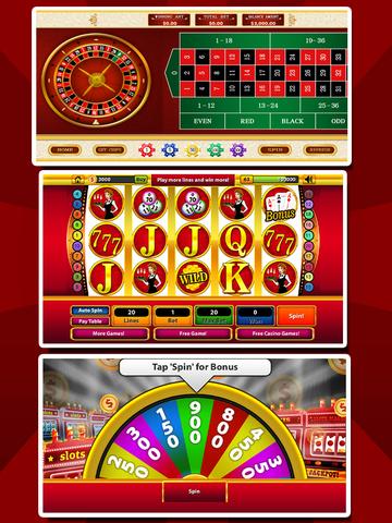 `Ace Win Royal Gold Poker Casino Coin Jackpot Slots - Slot Machine with Blackjack, Solitaire, Roulette, Bonus Prize Wheel screenshot 6