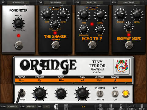 AmpliTube Orange for iPad screenshot 4
