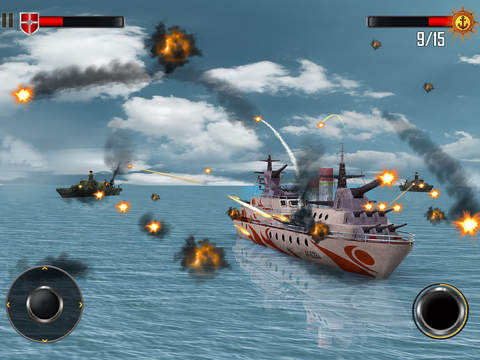 Sea Battleship Combat 3D screenshot 8