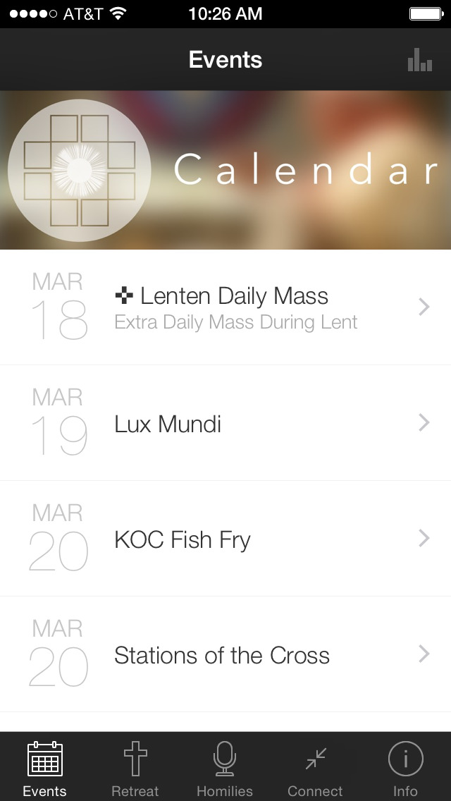 The LOTW App screenshot 1