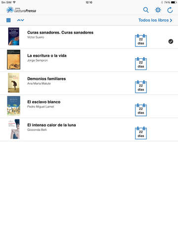 Zona Lectura Prensa screenshot #5