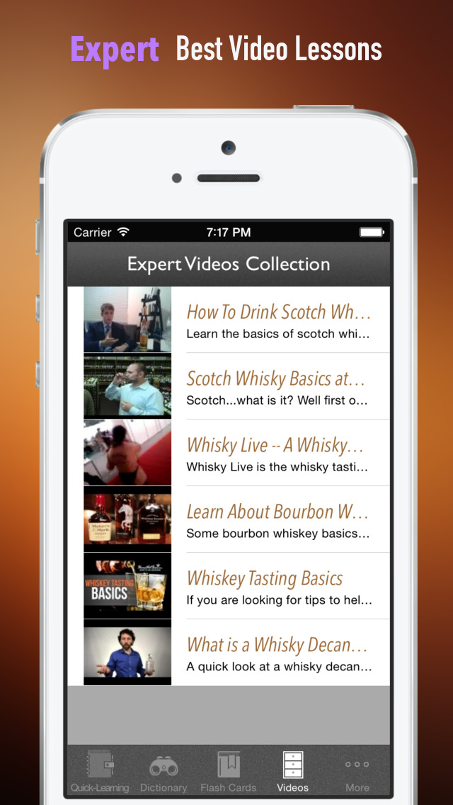 Whisky 101: Quick Study Reference with Video Lessons and Tasting Guide screenshot 5