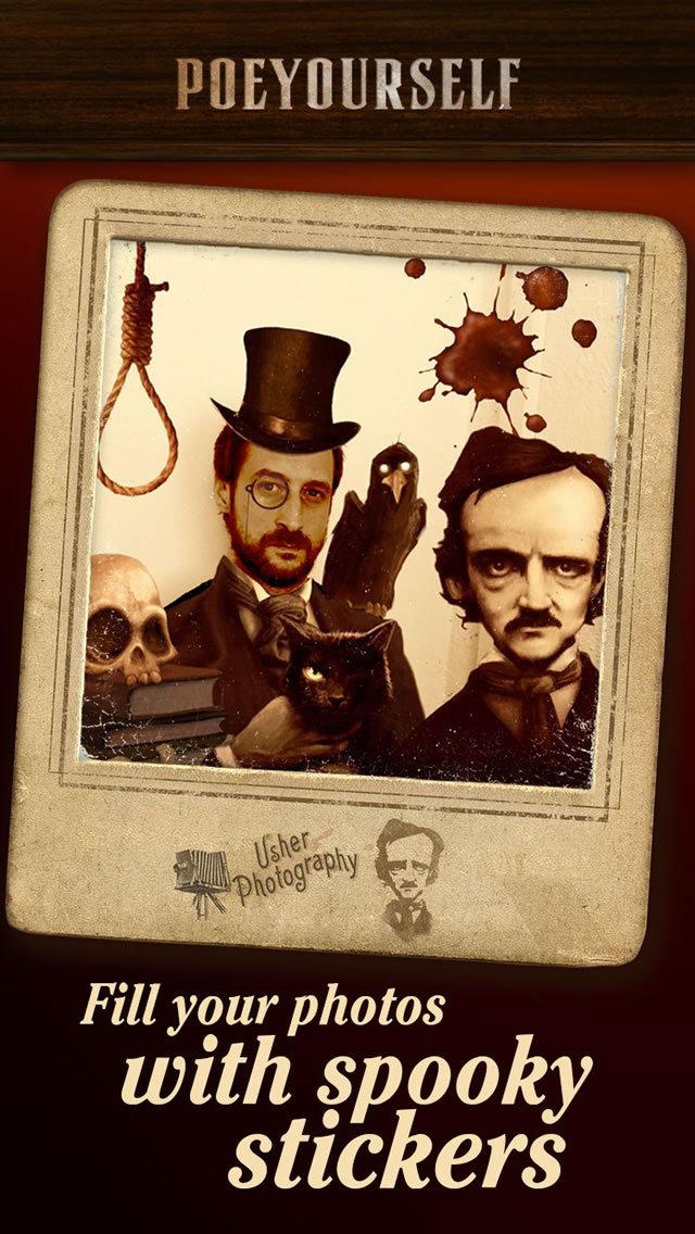 Poe Yourself - Take a photo and enjoy macabre! screenshot 2