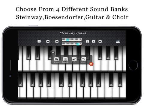 Music Piano 3D Free - Keyboard with Guitar & Choir Soundset screenshot 7