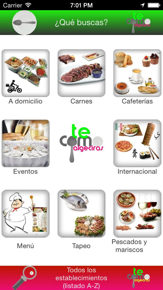 Te Como Algeciras - guía completa de la gastronomía especial screenshot 5